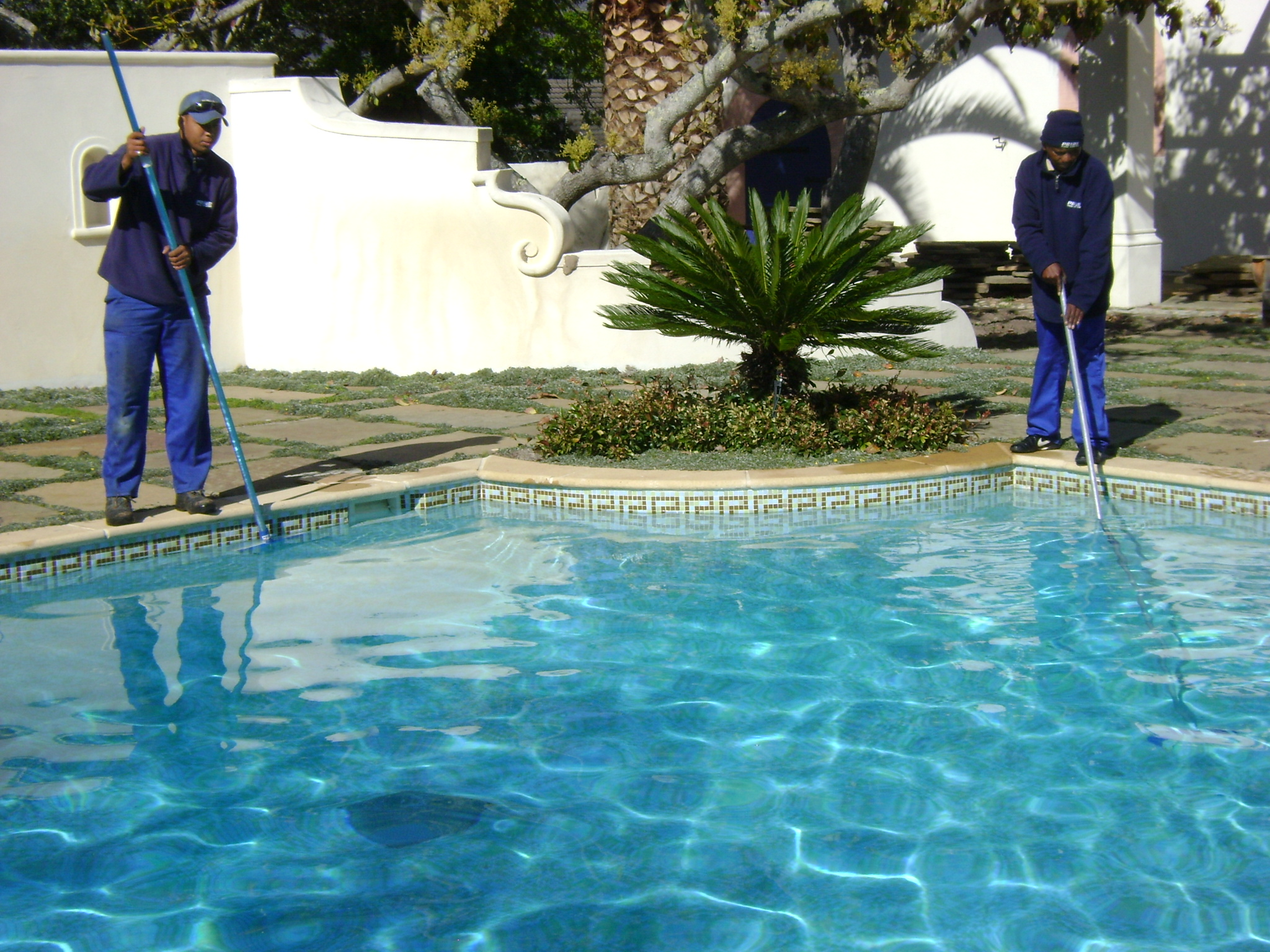 Swimming pool maintenance services for pool equipment - Salt water pumps for swimming pools ...