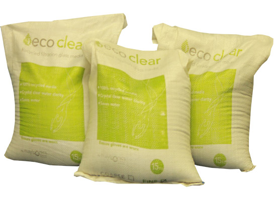 Ecoclear Recycled Filtration Glass