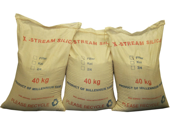 Silica Filter Sand